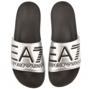 Product Image for EA7 Emporio Armani Visibility Sliders Silver